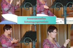 Bericht zum Anwendertreffen im Verein für Schwingungsmedizin e.V. am 08.09.18